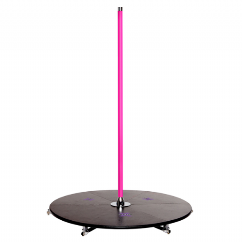 PRE-ORDER X-Pole X-Stage Lite 45mm in Silicone Pink
